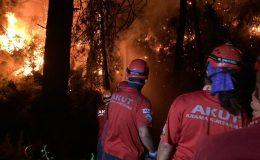 AKUT, yangında desteğini sürdürdü…  / Foto Galeri