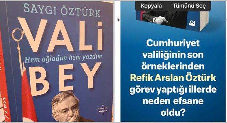"""""""Vali Bey'i mutlaka okuyun"""""""