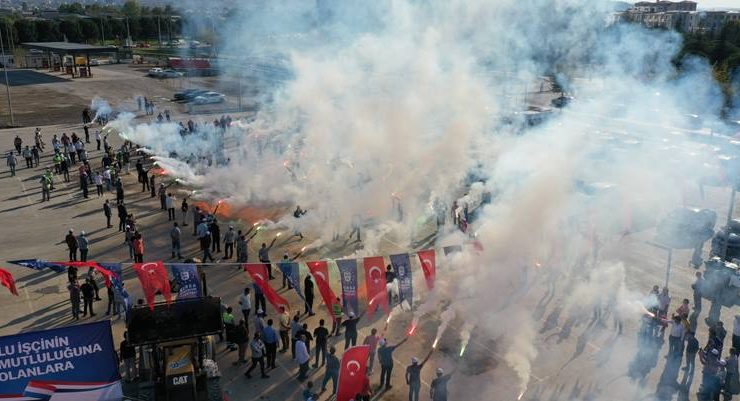 Bursa'da emekçiler sevindi…