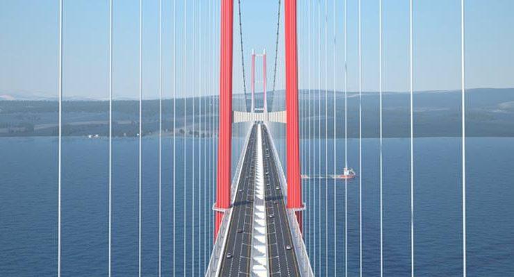 Köprüden geçiş onbeş avro…
