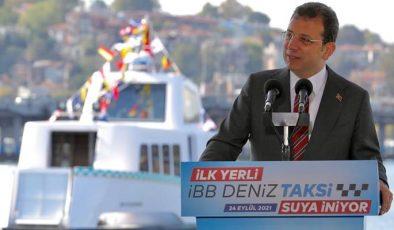 """""""Deniz Taksi"""" suya indi"""