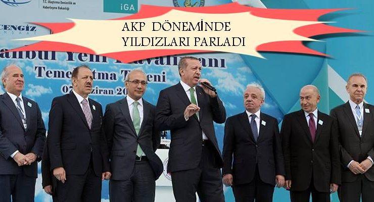 AKP döneminin yüklenicilerinin kurumsal vergisi…