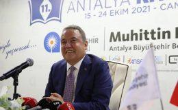 11. Antalya Kitap Fuarı okurla buluşuyor…